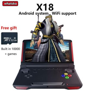 Powkiddy X18 Andriod Handheld Game Console 5.5 INCH 1280*720 Screen MTK8163 quad core 16G+32GB ROM Video Handheld Game Player