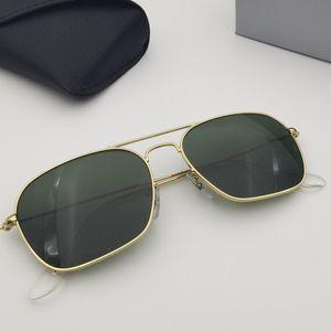 Mens Designer Sunglasses Women Fashion Sunglasses Brand Sun Glasses Eyeware Metal Frame Des Lunettes De Soleil with Free Leather Case