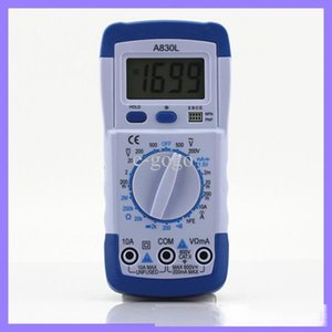 Pocket DMM Digital MultiMeter A830L Ammeter Multitester Вольтметр Megohmmeter Ohmmeter HFE Тестер нынешнего тестера с ЖК-подсветкой