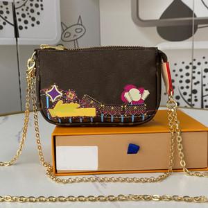 Сеть кошелек кошельки сумки мода пэчворк цвет натуральная кожа шелковый экран печать снежинки стиль женские сумки бесплатные Shipp