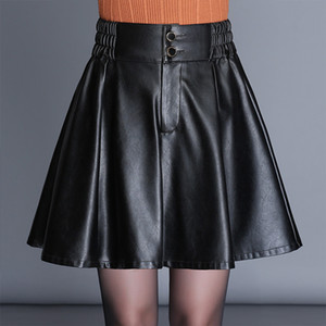 2020 Long Black Goth Jean Gonna Gothic Skort Z1122