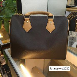 M40390 Bag M40394 Cylinder Crossbody M40391 Leather Flower Bags Original Straps Handbags Quality 20 Material Letter High Shoulder Speed Btcw