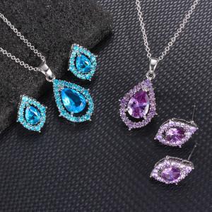Suit Collier gros nouvelle mode Tempérament cristal bijoux de mariée Collier doux mariage romantique Mesdames bijoux cadeau