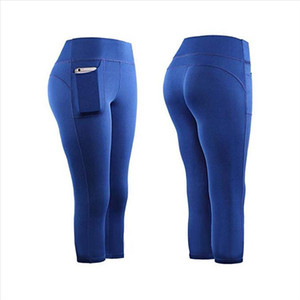 Leggings Sport Women Fitness High Waist Stretch Athletic Gym Leggings Running Sports Pockets Active Pants For Cell Phone 20