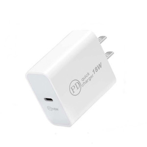 USB C Wall Charger 18W Power Delivery PD Quick Charge Adapter TYPE-C Plug Fast Charging for Smartphone Samsung Xiaomi