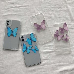 Mobile Yanfei gleiche 1211PRO MAX Song Phone Case XS Pink Butterfly XR Soft Cover 7 / 8plus