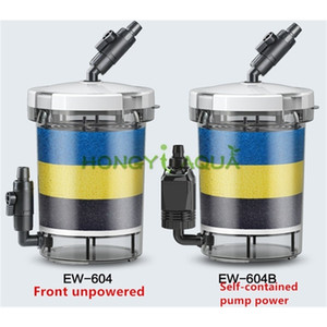 Sunsun Silent Bucket Filtro de Filtro de Tanque Aquário Suprimentos Durável HW-604 HW-604B EW-604 EW-604B C1115