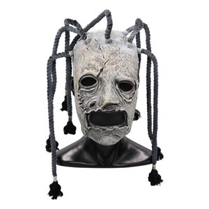 Movie Slipknot Corey Taylor Cosplay Mask Latex Costume Props Adults Halloween Party Fancy Dress