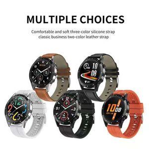T30 Smart Watch Men Bluetooth Call Fitness Heart Rate Blood Pressure Oxygen Monitor IP67 waterproof Sport Smartwatch