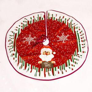 Christmas Tree Skirt Round Shape Xmas Tree Decor 2021 Christmas Apron For Decoration Xmas Skirts