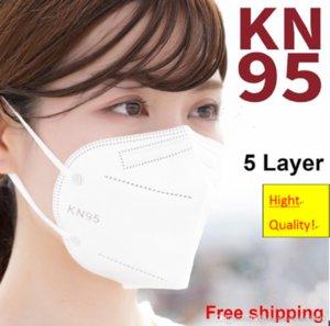Haute qualité En Stock Factory KN95 Masque 5 Couches NOPE NOPE NOPERS NOPE NOPER AVEC CERTIFICAT MASCARILLAS