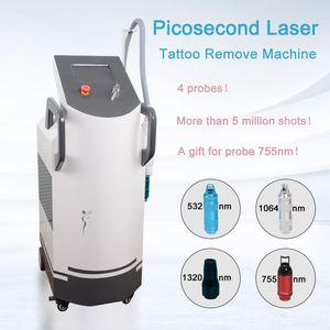 جديد الليزر picosecond for tatoo إزالة Q التبديل 1064nm 532nm بيكو الليزر الوشم إزالة بيكو البشرة بقعة إزالة المعدات بوورتي