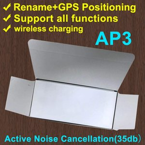 ANCR (35DB) AIROHA H1 ÉCRAPHONES DE CHIP GPS RENME AIR AP3 PRO AP2 TWS GEN 2 PODS POPUNE Fenêtre BLUETOOTH PARING AUTO PARING CHARGE SANS FIL