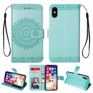 Cas de téléphone pour iPhone 12 Portefeuille Coques de couverture pour iPhone 11 PRO XS max 7 8 Samsung Note10