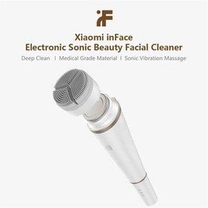 Youpin Inface Electronic Sonic Cleaner Beauty Facial Instrumento facial Limpieza profunda Massager Cuidado de la piel para la niña de aceite limpio Mejor regalo 3001621