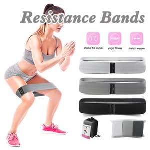 3PCS Unisex Booty Band Hip Circle Loop Resistance Band Workout Exercise for Legs Thigh Glute BuSquat Bands Non-slip Design