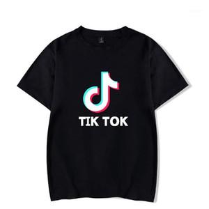 Tik tok Leisure t shirts Men women Breathable Clothes Tops Men's Fashion Comfortable Harajuku Tik tok short T shirt streetwear1