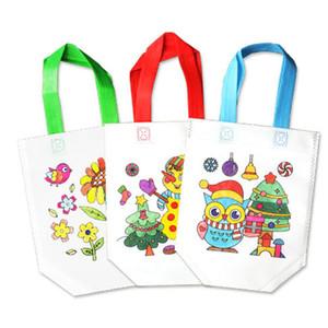 Kits d'artisanat DIY KITS ENFANTS Sacs à colorier Enfants Dessin Creative Set pour débutants Bébé Apprendre l'éducation Toys Peinture