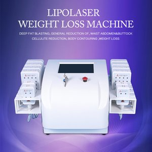High quality lipolaser fat removal machine diode laser body slimming portable beauty equipment DHL free shipping