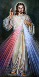 Jesus Christ Mary Catholic Large Home Decor Handpainted &HD Print Oil painting On Canvas Wall Art Canvas Pictures , F201208