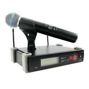 Top Quality UHF Professional SLX24 BETA58 / Microfono wireless Microfono Karaoke Karaoke con trasmettitore portatile