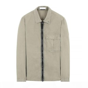 19FW 115WN OVERSHIRT OLD GARMENT DYE TOPST0NEY JACKETS Men Women Fashion Coat Jacket Shirt Outdoor HFYMJK297