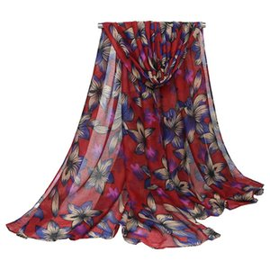 5PCS SET Scarves Women Spring Scarf Womens Voile Printed Warm Scarves Ladies Shawl Beach Towel Scarf Dropshipping