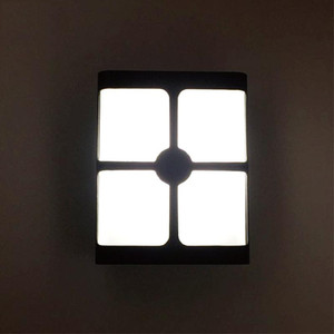 Square Waterproof IP65 LED Wall Light 12W Wall Mounted Outdoor Stair Light Lights In Step   Aisle Lamps Embedded Walls Lighting