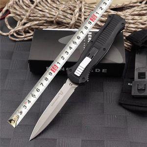 Benchmade BM 3300 Double Action Folding Automatic knife D2 Blade Aluminum Handle Auto Tactical Survival Best Knife BM 3310 3350 C81