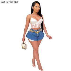 Sexy Mid Waist Women Short Jeans Summer Fashion Ripped Wide leg Denim Ultrashort Casual Push Up Vintage Denim Shorts Streetwear