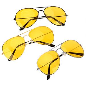 Anti-glare Polarizer Sunglasses Copper Alloy Car Drivers Night Vision Goggles Polarized Driving Glasses Auto Accessories DHL
