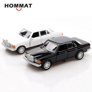 HOMMAT Simulation 1:36 Classic W123 Mercedes Model Car Vehicle Alloy Diecast Toy Car Model Collection Cars Toys For Children LJ200930