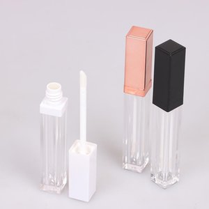 5ml Rose Gold Lip Gloss Tubes DIY Empty Cosmetic Container Refillable Bottles Liquid Lipstick Storage Bottle