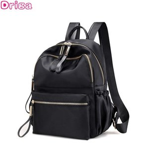Driga Fashion Backpack Women Leisure Back Pack Korean Ladies Knapsack Casual Travel Bags for School Teenage Girls Bagpack