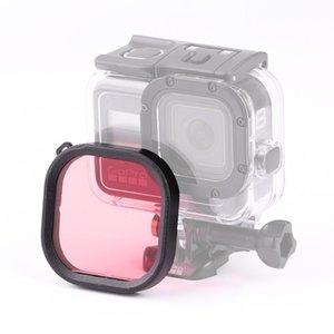 Square Housing Diving Color Lens Filter for GoPro HERO8 Black Original Waterproof Housing