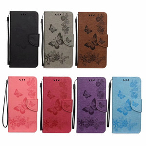 Fashion Butterfly Leather Wallet Case For Samsung Galaxy S30 Ultra S30 Plus S30 Cases Flower ID Card Slot Mobile Phone Flip Cover Strap