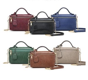 Women's new box-shaped design chain bag fashion hand single shoulder bag all-match messenger bag