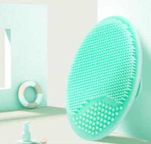 Yumuşak Yüz Fırçası Yüz Peeling Fırçası Silikon Temizleme Pedi Yıkama Yüz Yüz Peeling Fırçası Spa Cilt Scrub Temizleyici Aracı 8 Renk DHC481