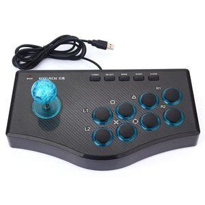 Проводной игровой контроллер игры Rocker USB Arcade Joystick USBF Stick для PS3 Компьютер PC GamePad Игровая консоль