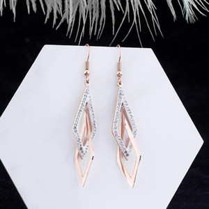 designer earrings fashion Stud tassel Long Suitable for Social gathering party Charm Ear jewelry Ohrringe wedding Trendy