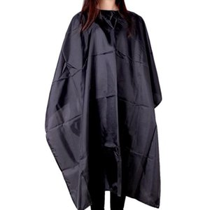 Fashion Salon Hairdressing Gown Cape Shave Apron Barber Professional Adult Hair Cutting Cloth Shampoo Waterproof Black Unisex H wmtMuL