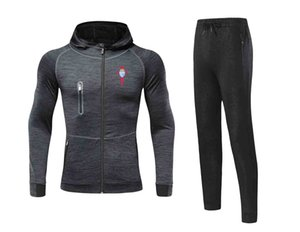 20 21 Newest Real Club Celta de Vigo, S.A.D Jacket Footbal Jersey Pant Adult Soccer Set winter tracksuit men Jacket warm suits