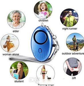Personal Alarm for Women 130DB Emergency Self-Defense Security Alarm Keychain with LED Light for Women Kids and Elders Hot