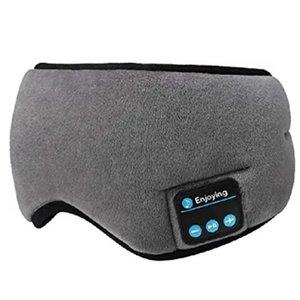 Bluetooth 5.0 Wireless Stereo Earphone 3D Sleep Mask Headband Sleep Soft Earphones Sleeping Eye Mask Music Headset Headphone