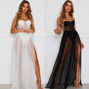 Женские спящие одежды длинные женские ночное платье ночные рубашки спагетти ремешок спящие Сексуальные эротические ночные белье спать