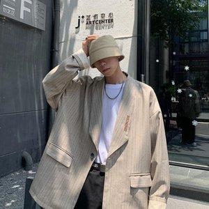2020 Automne et hiver Nouveau Jeunes Jeunes Version coréenne populaire de Pure Color Color Broderie Suit Suit Fashion Casual Top M-2XL1