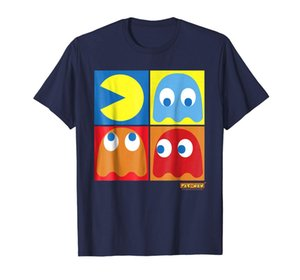 2019 Moda Pac Man Summer Personality Squares Abstract Graphic Designers T Shirt Hombres Graphic Hoodie