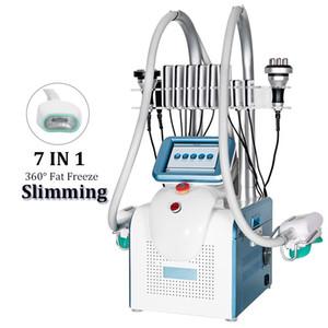 5 в 1 Мини Cryo 360 Cryolipolisis Жирная замораживающая машина Coolsculpting двойной подбородок для удаления жира 360 жира замораживает живот брюшной похудения
