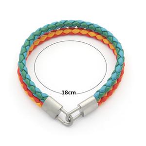 Leather Bangle Women Female Retro Lock Bracelets Women Party Jewelry