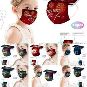 R4U Детская маска Одноразовые маски для лица Слои детские Голубые хлопковые маски рот лица Ультраманная маска нетканая маска против пыли